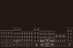 Fond de la ville. Image stock