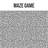 Fond de labyrinthe Maze Game Concept Image stock