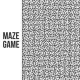 Fond de labyrinthe Maze Game Concept Photos stock