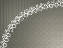 Fond de lacet illustration stock