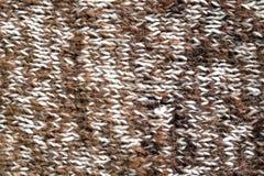 Fond de laine tricotée par chameau Images libres de droits