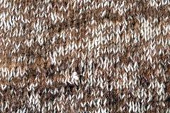 Fond de laine tricotée par chameau Photos stock