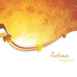 Fond de lames d'automne Image libre de droits