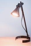Fond de lampe de bureau Photo libre de droits