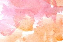 Fond de lavage d'aquarelle photos libres de droits