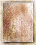 Fond de lavage d'aquarelle dans le cadre d'ombre Images stock