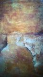 Fond de lit de rivière de formation de roche vieux Image libre de droits