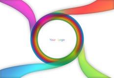 Fond de logo Photo libre de droits