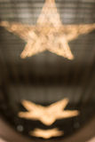 Fond de lueur de style d'étoile Photographie stock libre de droits