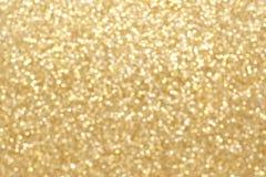 Fond de lumière de scintillement d'or Image libre de droits