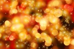 Fond de lumières de Noël Photo libre de droits