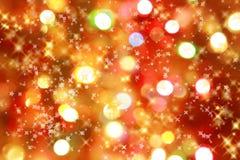 Fond de lumières de Noël Photos stock