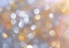 Fond de lumières de Noël. Image stock