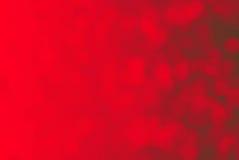 Fond de lumières rouges Images libres de droits