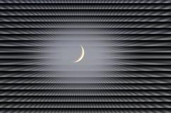 Fond de lune Photos libres de droits
