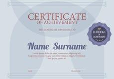Fond de luxe de calibre de frontière certifié par blanc bleu classique Images libres de droits