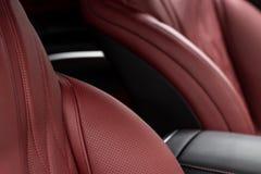 Fond de luxe moderne d'intérieur de voiture Photo stock