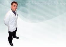 Fond de médecin pharmacien images libres de droits