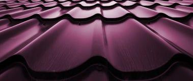 Fond de métallique onduleux Photo libre de droits