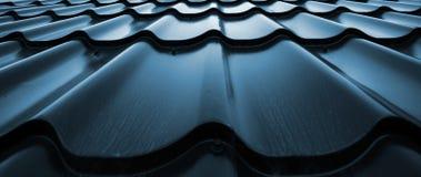 Fond de métallique onduleux Image libre de droits