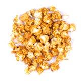 Fond de maïs éclaté de caramel Photo libre de droits
