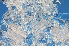 Fond de macro de glace photos libres de droits