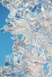 Fond de macro de glace image stock
