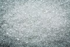 Fond de macro de sucre granulé d'amende Image libre de droits