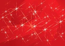 Fond de magie de Noël Photographie stock libre de droits