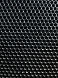Fond de maille en métal avec les trous ronds photo libre de droits