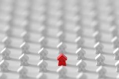 Fond de maisons infini Photos libres de droits