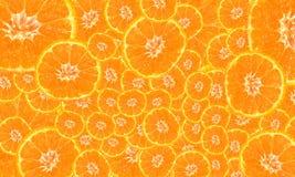 Fond de mandarine lumineuse Photo libre de droits