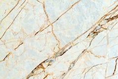 Fond de marbre blanc naturel de texture, surface de marbre de luxe Image libre de droits