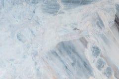 Fond de marbre bleu extérieur de texture de plancher de plan rapproché Images stock