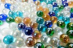 Fond de marbre coloré de boule Images libres de droits