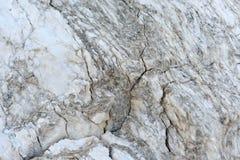 Fond de marbre d'une roche blanche géante Photos stock