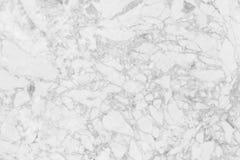 Fond de marbre de blanc de texture Images stock