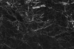 Fond de marbre gris noir de texture avec la vue de haute résolution et supérieure de la pierre naturelle de tuiles dans le modèle photographie stock