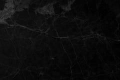 Fond de marbre noir Photographie stock libre de droits