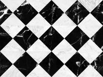 Fond de marbre noir et blanc de mur de briques, modèle de marbre sans couture de mur, pour la conception d'intérieurs De haute ré photos stock