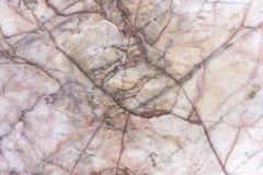 Fond de marbre rose utilisé pour la décoration et la salle de bains de mur Photographie stock libre de droits