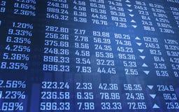 Fond de marché boursier Images stock