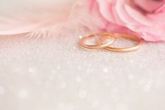 Fond de mariage sur l'étincelle defocused image stock