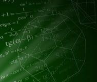 Fond de mathématiques Photos libres de droits