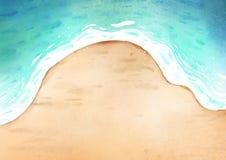 Fond de mer illustration stock