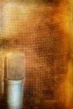 Fond de microphone de condensateur Image libre de droits