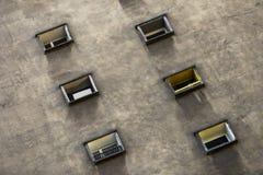 Fond de minimalisme de Windows Image libre de droits