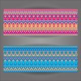 Fond de modèle avec géométriquement des éléments Images libres de droits