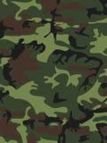 Fond de modèle de camouflage Style de région boisée Illustrati de vecteur Images stock