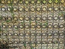 Fond de modèle de cercle de ressort de matelas Image libre de droits